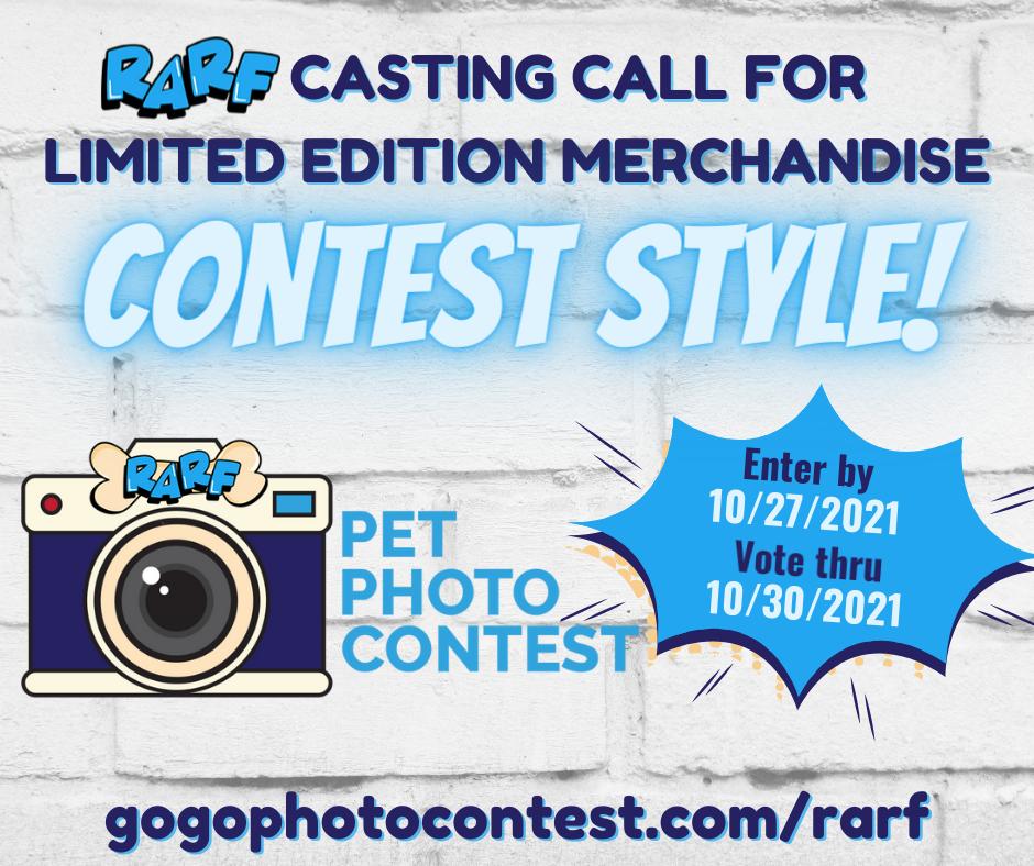 RARF Pet Photo Contest